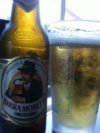 the beer for the italian businessman